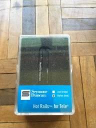 Captador Seymour Duncan Hot Rails For Tele ( Braço ) Sthr-1n