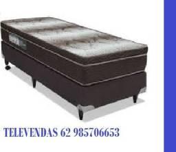 ::Conjunto Cama Box Colchao Light ortopédico selado Ortobom Solteiro (88x188) Confira;;