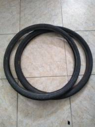 Dois pneus aro 26 x 1.1/2 usados