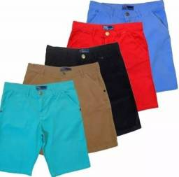 Camiseta mais Shorts por 99,99 Kit Masculino