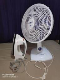 Ventilator e ferro de passar