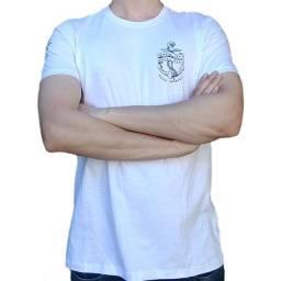 Camiseta Manga Curta 100% Algodão - Marinheiro