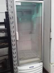 Freezer porta de vidro -