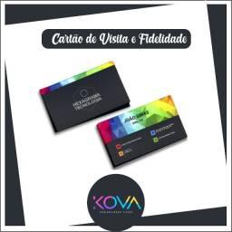 Cartão de Visita ou Fidelidade