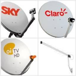 Instalação de Antena Via Sat