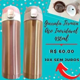 Garrafa Térmica 450ml - Aço Inoxidável - Vacum Cup