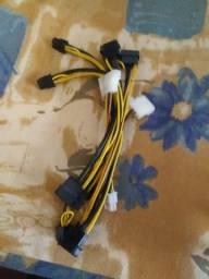 adaptadores de placa de video de 6 pinos