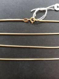 Cordão de ouro 18k - Modelo Rabo de Rato