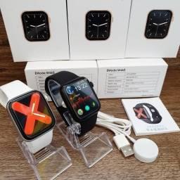 Smartwatch iwo  w46 tela infinita relógio smart