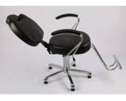 Cadeira Poltrona Reclinavel Cabeleireiro e Barbeiro
