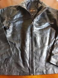 Jaqueta em couro tamanho G