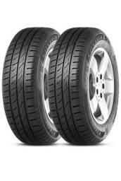 2 pneus 175 70 13 2 semanas de uso estão zeros.