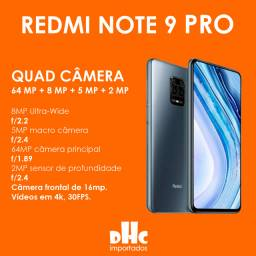 Xiaomi Redmi Note 9 Pro com Nfc: 128 Gb de memória interna, 6 Gb Ram
