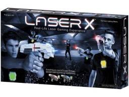 [Promoção] [Estado:Novo]Conjunto de 2 Lançadores Laser X Dupla - Infravermelho com Colete