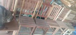 Título do anúncio: Cadeiras rústico artesanal dura a vida toda