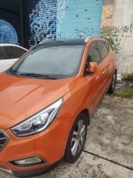 Hyundai ix35 série exclusiva 2016 laranja