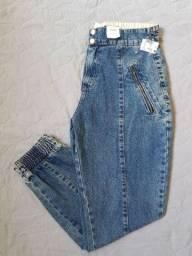 Calça Jeans Nova Jogger 40