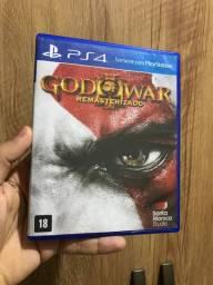 God of war 3 Ps4 jogo semi novo português legendado