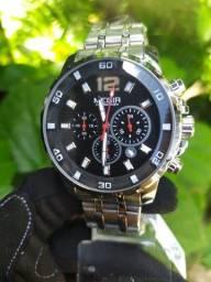 Título do anúncio: Relógio Megir Luxo Original entrega grátis