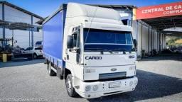 Ford Cargo 815 ano 2010 com Bau sider de 5.60m