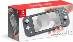 Nintendo Switch Lite 32GB Grey - NOVO - Loja Física