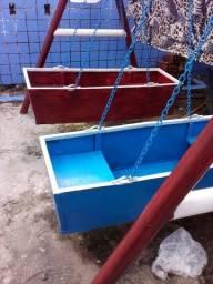 Barca para crianças brinca,(balanço)