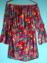 Vestido florido Tam. M