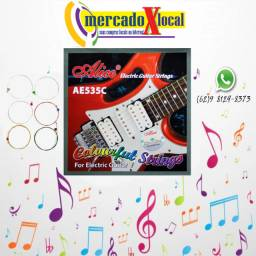 Jogo de Corda Colorida para Guitarra 0.9