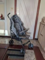Carrinho bebê Genua ABC design cinza