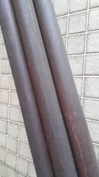 """Título do anúncio: Tubo Cobre Eluma S/costura Rígido Classe E 54x2"""" e 66,7x2 1/2"""" Com 5 Metros"""