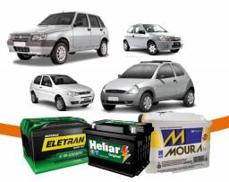 Baterias novas ford ka, uno, celta, corsa, palio