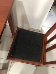 Mesa com 5 cadeiras otimo estado nogocio valor