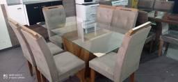 Mesa Sala de Jantar 6 Cadeiras