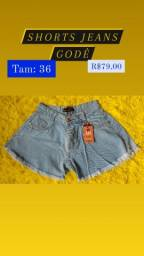 Título do anúncio: Shorts e Blusas Femininas novas