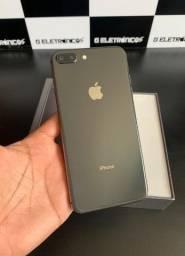 IPhone 8 Plus 64GB Preto completo Divido no cartão até 12X