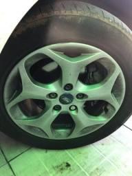 Rodas com pneus focus titanium 5x108