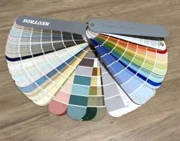 Leque de cores