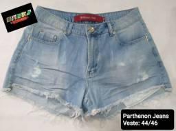 Título do anúncio: Short Jeans Feminino_44/46_ Parthenon Jeans