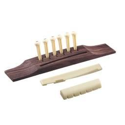 Cavalete p/ violão de aço - Rastilho e Pestana Kit de Reparo madeira