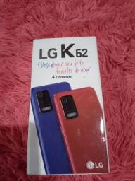 LG k62 semi novo