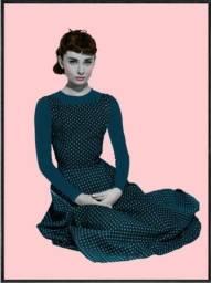 Tela em Canva Audrey Hepburn Urban Arts
