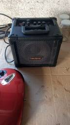 Gutarra PHX e caixa amplificadora HAYONIK