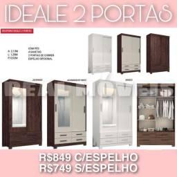 Guarda roupa ideale 2 portas guarda roupa ideale 2 portas guarda roupa ideale 2 portas 19