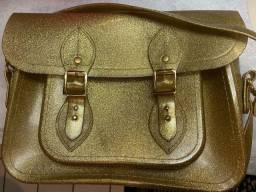 Vendo bolsa satchel da melissa