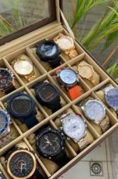 Tá afim de um relógio top ? Temos vários pra você. Só chamar e enviamos todos os modelos.