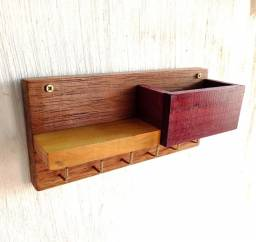 Porta chaves em madeira