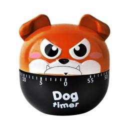 Cartoon Dog Timers Timer Mecânico Tempo De Cozinha Lembrete Cozinha