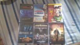Dvds De Filmes e Um De Música