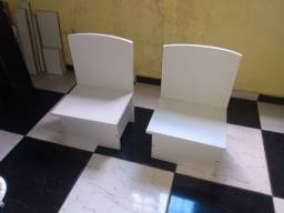 2 cadeira infantil 100% MDF