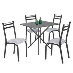 Jogo de Mesa 4 cadeiras